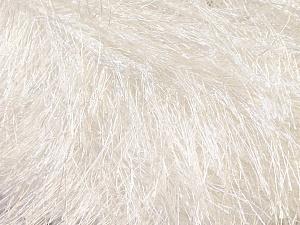 Fiberinnehåll 100% Polyester, White, Brand Ice Yarns, Yarn Thickness 5 Bulky  Chunky, Craft, Rug, fnt2-22745