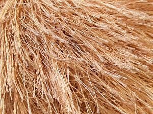 Fiber Content 100% Polyester, Light Brown, Brand Ice Yarns, Yarn Thickness 5 Bulky  Chunky, Craft, Rug, fnt2-22750
