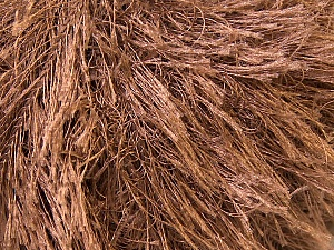 Fiberinnehåll 100% Polyester, Brand Ice Yarns, Brown, Yarn Thickness 5 Bulky  Chunky, Craft, Rug, fnt2-22753