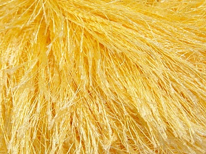 Fiber Content 100% Polyester, Light Yellow, Brand Ice Yarns, Yarn Thickness 5 Bulky  Chunky, Craft, Rug, fnt2-22755
