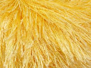 Fiberinnehåll 100% Polyester, Light Yellow, Brand Ice Yarns, Yarn Thickness 5 Bulky  Chunky, Craft, Rug, fnt2-22755