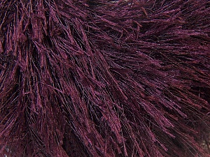 Fiber Content 100% Polyester, Brand Ice Yarns, Dark Maroon, Yarn Thickness 5 Bulky  Chunky, Craft, Rug, fnt2-22764