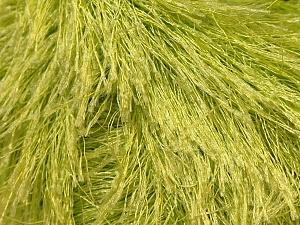 Fiberinnehåll 100% Polyester, Light Green, Brand Ice Yarns, Yarn Thickness 5 Bulky  Chunky, Craft, Rug, fnt2-22783