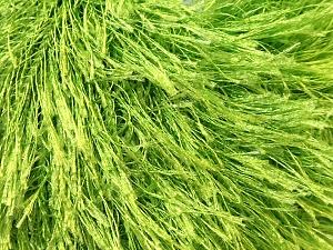 Fiberinnehåll 100% Polyester, Brand Ice Yarns, Green, Yarn Thickness 5 Bulky  Chunky, Craft, Rug, fnt2-22786