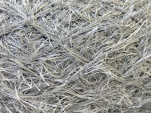 Fiber Content 100% Polyester, Brand Ice Yarns, Grey, Yarn Thickness 5 Bulky  Chunky, Craft, Rug, fnt2-22790