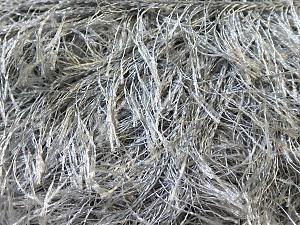 Fiberinnehåll 100% Polyester, Brand Ice Yarns, Grey, Yarn Thickness 5 Bulky  Chunky, Craft, Rug, fnt2-22794
