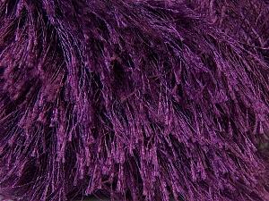 Fiberinnehåll 100% Polyester, Maroon, Brand Ice Yarns, Yarn Thickness 5 Bulky  Chunky, Craft, Rug, fnt2-22795