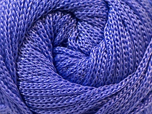 Width is 2-3 mm Fiber Content 100% Polyester, Lavender, Brand Ice Yarns, fnt2-22904