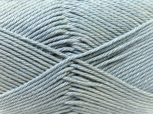 Fiber Content 100% Mercerised Cotton, Brand Ice Yarns, Grey, Yarn Thickness 2 Fine  Sport, Baby, fnt2-23324