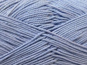Fiber Content 100% Mercerised Cotton, Light Lilac, Brand Ice Yarns, Yarn Thickness 2 Fine  Sport, Baby, fnt2-23336