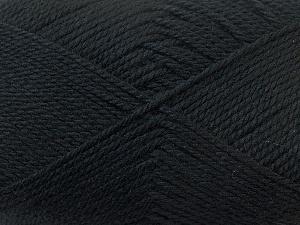 Fiber Content 100% Acrylic, Brand Ice Yarns, Black, Yarn Thickness 2 Fine  Sport, Baby, fnt2-23579