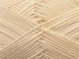 Fiber Content 100% Acrylic, Brand Ice Yarns, Cream, Yarn Thickness 2 Fine  Sport, Baby, fnt2-23580