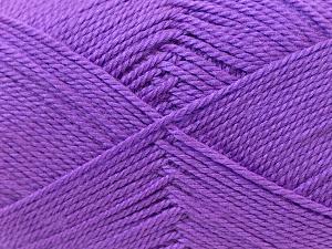 Fiber Content 100% Acrylic, Lavender, Brand Ice Yarns, Yarn Thickness 2 Fine  Sport, Baby, fnt2-23595