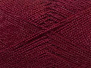 Fiber Content 100% Acrylic, Brand Ice Yarns, Burgundy, Yarn Thickness 2 Fine  Sport, Baby, fnt2-23598