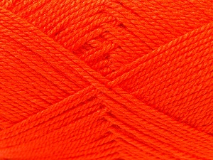 Fiber Content 100% Acrylic, Orange, Brand Ice Yarns, Yarn Thickness 2 Fine  Sport, Baby, fnt2-23602