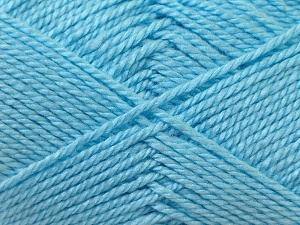 Fiber Content 100% Acrylic, Light Blue, Brand Ice Yarns, Yarn Thickness 2 Fine  Sport, Baby, fnt2-23603
