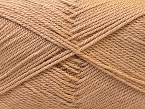 Fiber Content 100% Acrylic, Light Brown, Brand Ice Yarns, Yarn Thickness 2 Fine  Sport, Baby, fnt2-23779