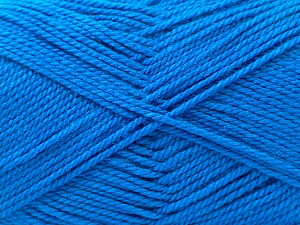 Fiber Content 100% Acrylic, Brand Ice Yarns, Blue, Yarn Thickness 2 Fine  Sport, Baby, fnt2-23782