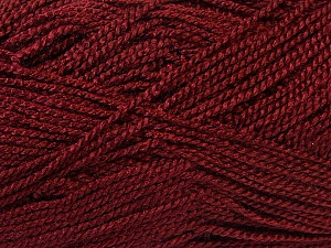 Fiber Content 100% Acrylic, Brand Ice Yarns, Burgundy, Yarn Thickness 1 SuperFine  Sock, Fingering, Baby, fnt2-24613