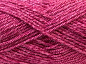 Fiber Content 70% Dralon, 30% Alpaca, Pink, Brand Ice Yarns, Yarn Thickness 4 Medium  Worsted, Afghan, Aran, fnt2-25379
