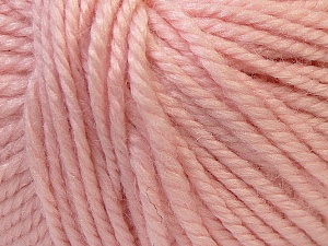 Fiber Content 40% Acrylic, 35% Wool, 25% Alpaca, Light Pink, Brand Ice Yarns, Yarn Thickness 5 Bulky  Chunky, Craft, Rug, fnt2-25408