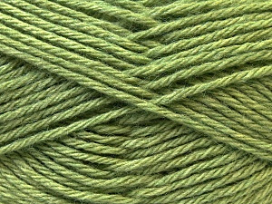 Fiber Content 70% Dralon, 30% Alpaca, Brand Ice Yarns, Green, Yarn Thickness 4 Medium  Worsted, Afghan, Aran, fnt2-25665