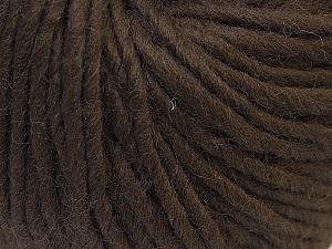 Fiber Content 100% Wool, Brand Ice Yarns, Brown, Yarn Thickness 5 Bulky  Chunky, Craft, Rug, fnt2-25995
