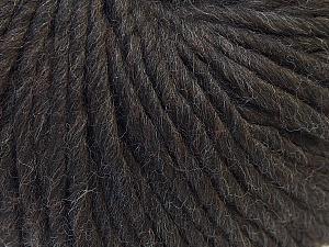 Contenido de fibra 100% Lana, Brand Ice Yarns, Dark Brown, Yarn Thickness 5 Bulky  Chunky, Craft, Rug, fnt2-25996