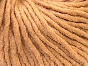 Fiber Content 100% Wool, Light Brown, Brand Ice Yarns, Yarn Thickness 5 Bulky  Chunky, Craft, Rug, fnt2-25997