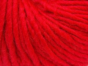 Fiber Content 100% Wool, Red, Brand Ice Yarns, Yarn Thickness 5 Bulky  Chunky, Craft, Rug, fnt2-26001