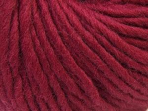Contenido de fibra 100% Lana, Brand Ice Yarns, Burgundy, Yarn Thickness 5 Bulky  Chunky, Craft, Rug, fnt2-26002