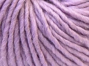Fiber Content 100% Wool, Lilac, Brand Ice Yarns, Yarn Thickness 5 Bulky  Chunky, Craft, Rug, fnt2-26005
