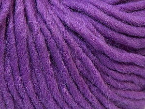 Fiber Content 100% Wool, Lavender, Brand Ice Yarns, Yarn Thickness 5 Bulky  Chunky, Craft, Rug, fnt2-26007