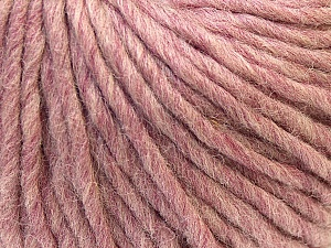 Fiber Content 100% Wool, Rose Pink, Brand Ice Yarns, Yarn Thickness 5 Bulky  Chunky, Craft, Rug, fnt2-26009