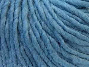 Fiber Content 100% Wool, Light Blue, Brand Ice Yarns, Yarn Thickness 5 Bulky  Chunky, Craft, Rug, fnt2-26011