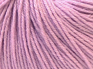 Fiber Content 40% Acrylic, 40% Merino Wool, 20% Polyamide, Lilac, Brand Ice Yarns, Yarn Thickness 2 Fine  Sport, Baby, fnt2-26117