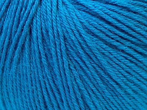 Fiber Content 40% Merino Wool, 40% Acrylic, 20% Polyamide, Brand Ice Yarns, Dark Blue, Yarn Thickness 2 Fine  Sport, Baby, fnt2-26122