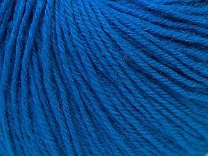 Fiber Content 40% Merino Wool, 40% Acrylic, 20% Polyamide, Brand Ice Yarns, Blue, Yarn Thickness 2 Fine  Sport, Baby, fnt2-26124
