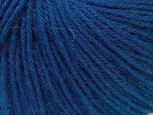 Fiber Content 40% Merino Wool, 40% Acrylic, 20% Polyamide, Navy, Brand Ice Yarns, Yarn Thickness 2 Fine  Sport, Baby, fnt2-26125