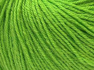 Fiber Content 40% Merino Wool, 40% Acrylic, 20% Polyamide, Brand Ice Yarns, Green, Yarn Thickness 2 Fine  Sport, Baby, fnt2-26126