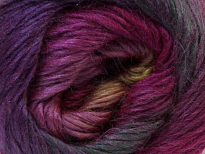 Fiber Content 40% Wool, 30% Acrylic, 30% Mohair, Purple, Olive Green, Maroon, Brand Ice Yarns, Yarn Thickness 3 Light  DK, Light, Worsted, fnt2-27209