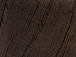 Fiber Content 50% Linen, 50% Viscose, Brand Ice Yarns, Brown, Yarn Thickness 2 Fine  Sport, Baby, fnt2-27253