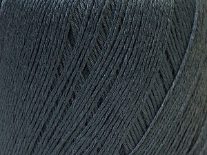 Fiber Content 50% Linen, 50% Viscose, Brand Ice Yarns, Dark Grey, Yarn Thickness 2 Fine  Sport, Baby, fnt2-27256