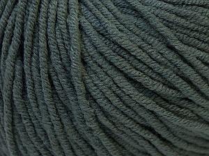 Fiber Content 50% Cotton, 50% Acrylic, Brand Ice Yarns, Dark Grey, Yarn Thickness 3 Light  DK, Light, Worsted, fnt2-27352