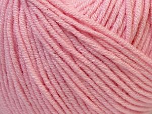 Fiber Content 50% Acrylic, 50% Cotton, Light Pink, Brand Ice Yarns, Yarn Thickness 3 Light  DK, Light, Worsted, fnt2-27360