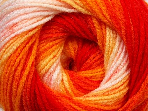 Fiber Content 100% Baby Acrylic, Yellow, Orange Shades, Light Pink, Brand ICE, Yarn Thickness 2 Fine  Sport, Baby, fnt2-29608