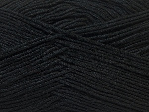 Fiber Content 100% Antibacterial Dralon, Brand Ice Yarns, Black, Yarn Thickness 2 Fine  Sport, Baby, fnt2-32827