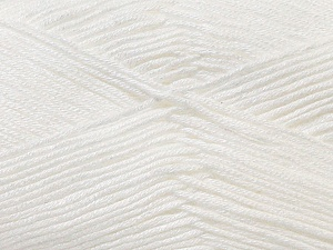 Fiber Content 100% Antibacterial Dralon, White, Brand Ice Yarns, Yarn Thickness 2 Fine  Sport, Baby, fnt2-32828