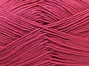 Fiber Content 100% Antibacterial Dralon, Brand Ice Yarns, Dark Pink, Yarn Thickness 2 Fine  Sport, Baby, fnt2-32835