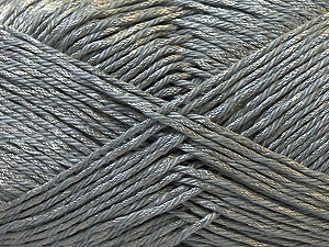 Fiber Content 50% Polyester, 50% Cotton, Brand Ice Yarns, Grey, Yarn Thickness 2 Fine  Sport, Baby, fnt2-33039